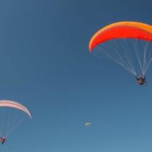 Paragliding_Albania_9th_FAI_2parachutes