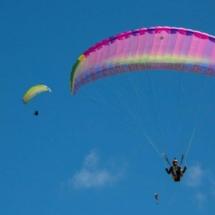 Paragliding_Albania_9th_FAI_pink_parachute