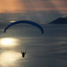 Paragliding_Albania_9th_FAI_sunset_parachute