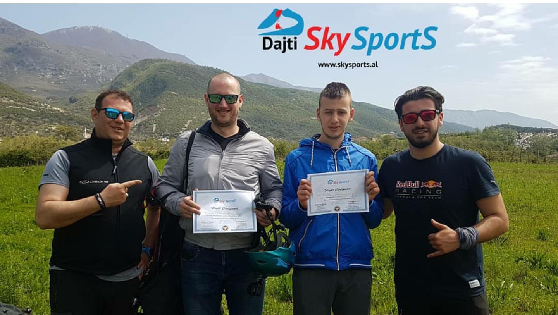 DAJTI SKY SPORTS - Paragliding al   Paragliding Albania  